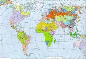 Рис. 4.4.1. Языки народов мира [35].