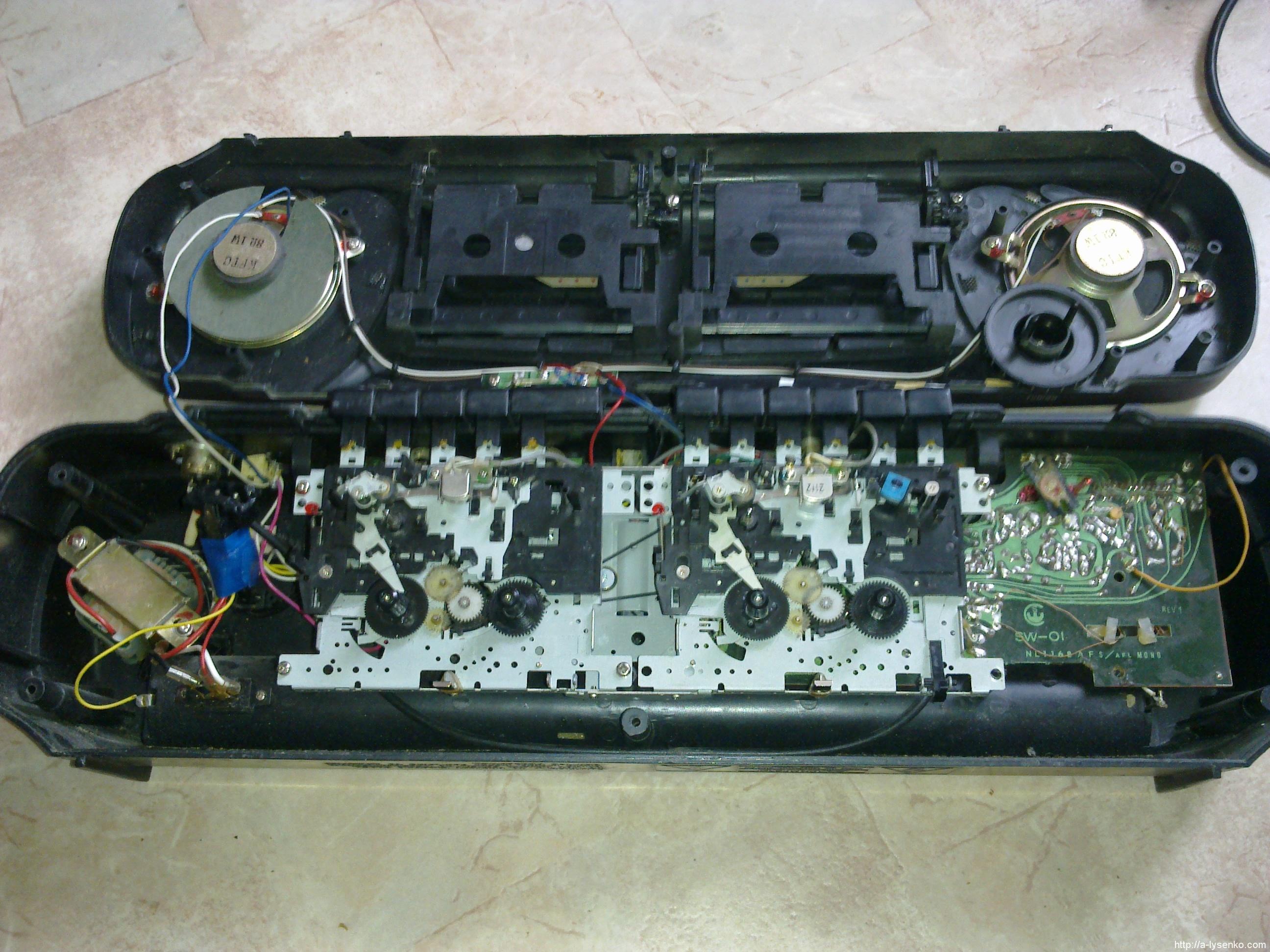 Как сделать из магнитофона 970